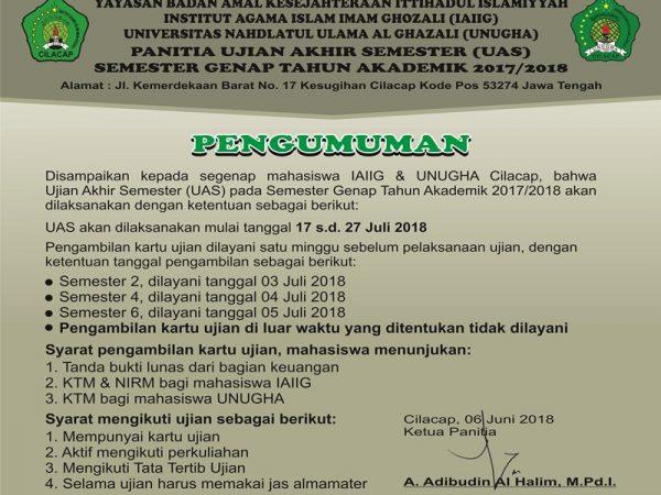 Informasi Keuangan Mahasiswa