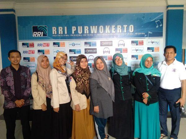 KPI IAIIG Cilacap Kuliah Lapangan di RRI Purwokerto